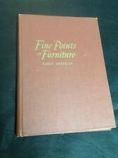 Fine Points of Furniture Early American - Albert Sack, Crown- 1950  Signed