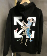 BNWT OFF! WHITE MENS HOODIE SWEATSHIRT L (ALL SIZES AVAILABLE)