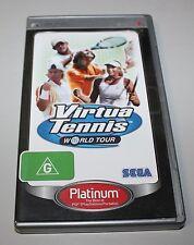 VIRTUA TENNIS WORLD TOUR - SONY PSP Game - AUS PAL - (NTSC Compatible) !!