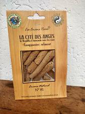 Encens rare La cité des anges: relaxant, ingrédients naturels équitable n°81