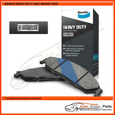 Bendix H/Duty Front Brake Pads for IVECO DAILY MWB 45C17 3.0L - DB1973HD