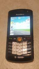 BlackBerry Pearl 8100 - Black (T-Mobile) Smartphone, Unlocked, lot #207