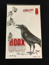 Hoax Hunters # 11 - New York Comic Con Variant - Signed