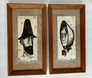 Original Art William Kosloff Prints Mountain Man Woman TN Appalachia Americana