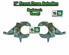 "82-05 Chevy S-10 S10 GMC S-15, 82-97 Sonoma Blazer Jimmy 2"" 2 inch Drop Spindles"