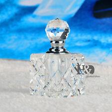 Clear Vintage Cute Crystal Perfume Bottle Empty Glass Art Bottle Lady Gifts 5ml