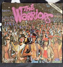 Laserdisc The Warriors LD /  original Sprache  / RAR