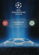 Programm UEFA CL 2008/09 Aalborg BK - Celtic FC