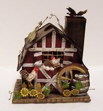 Rustic Metal Country Barn Candle Holder Rotating Weather Vane