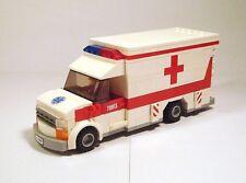 LEGO Custom Modular Building - American Ambulance - ONLY PDF INSTRUCTIONS!