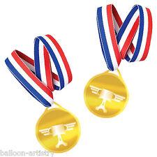 6 Disney Cars 2 De botín de grupo Plástico Piston Cup Medallas