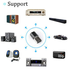 Bluetooth v3.0 USB Wireless 3.5mm AUX Audio Music Receiver Adapter Home Car S^