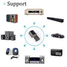 Bluetooth v3.0 USB Wireless 3.5mm AUX Audio Music Receiver Adapter Home Ca QA