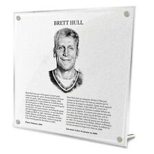 Brett Hull St. Louis Blues HHOF Legends Fire-Polished Acrylic Plaque