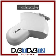 Antenne Terrestre Active 35 dB Relook RE-TAC35 DVB-T, DVB-T2, FM / DAB+