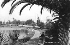 RPPC WESTLAKE PARK Los Angeles, CA Plunkett Photo ca 1950s Vintage Postcard