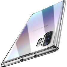 Para Samsung Galaxy Note 10 Plus Funda Pc + Tpu Clear Hard Back Panel Hybrid