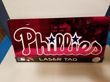 MLB Philadelphia Phillies Laser License Plate Tag - Red
