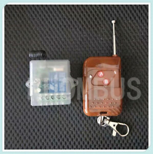 Wireless Remote Control Delay Switch System 12V 1CH Transmitter&Receiver  433MHz