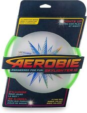 Aerobie Skylighter Frisbee LED Light Flying Disc Arobie Frisbee Toy Rings - 10""