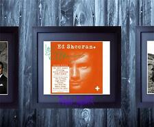 Ed Sheeran + Album Artwork SIGNED AUTOGRAPHED 10X8 FRAMED PRE-PRINT PHOTO