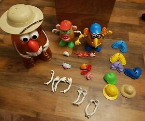 Hasbro Large Mr Potato Head Safari With 2 Heads & Lots of Accessories, Toy Story
