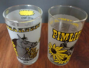 1977 & 1978 Preakness Stakes Glasses