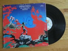 MICK BOX of URIAH HEEP signed DEMONS AND WIZARDS 1972 Record COA EASY LIVIN