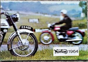 Norton Sales Brochure 1964 Models Electra Navigator  88 99 650SS Jubillee