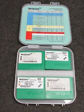 WIDIA 4x4 PERFORMANCE CARBIDE INSERTS SAMPLE KIT, 3289451, NEW!