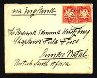 Bavaria 1901 Cover to Cape of Good Hope / Boer War / Letter - Z16834