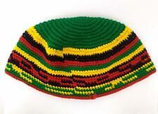 Guatemalan Crochet Hat Kufi Reggae Beanie Hand Made CONCERNED CRAFTS NOS #AN