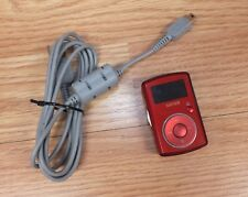 *FOR REPAIR* Genuine SanDisk 2GB Sansa Red Music Player W 3.5mm Jack **READ**
