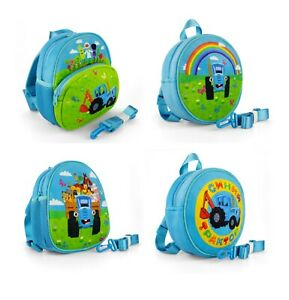Kid's backpack with the character Russian cartoon Blue tractor Синий трактор