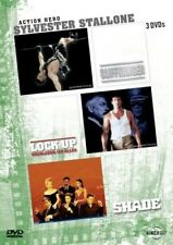 3x Sylvester Stallone: CLIFFHANGER + LOCK UP  + SHADE (3 DVDs) NEU+OVP