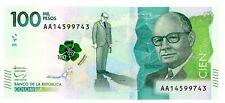 Colombia  … P-463 … 100,000 Pesos … 2014(2016) … Choice *UNC*.