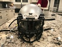 Xenith x2e Youth Gray In Color With Visor Football Helmet