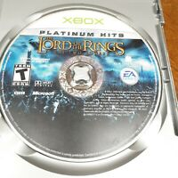 Lord of the Rings: The Two Towers Microsoft Xbox PLATINUM EDITION Free Shipping