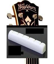 GeetarGizmos SLOTTED BONE NUT made for Washburn / Oscar Schmidt Guitars