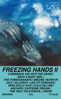 Freezing Hands II - LIKE NEW CASSETTE TAPE Burger Records Indie Power Pop 2016