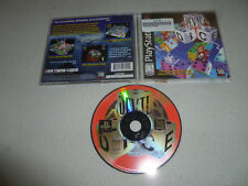 PLAYSTATION PS1 GAME DEVIL DICE W CASE & MANUAL COMPLETE THQ