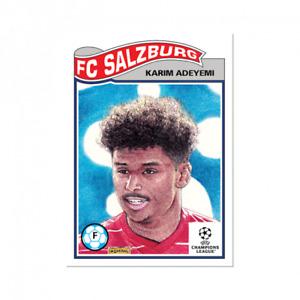 14k FB No Cancel Karim Adeyemi Salzburg 2021 UCL Topps Now Living Set Card #376