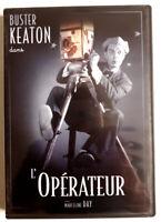 L'opérateur - Buster KEATON - dvd Très bon état