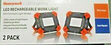 Honeywell LED Work Light USB Rechargeable 1000 Lumens (5000K BRIGHT) 2 Pack