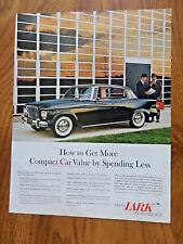 1961 Lark by Studebaker Ad 2 Door Hardtop