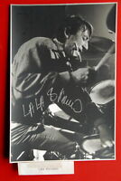 LALA KOVACEV DRUMMER JAZZ FUSION SIGNED PHOTO DRUMS DUSKO GOYKOVICH BALKAN ETHNO