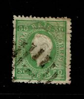 Portugal SC# 42, Used, side tear, some toning - S6555
