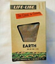 LIFE-LIKE S109S EARTH SCENERY FOR TRAIN LAYOUTS--7 OZ. (NEW IN BOX)
