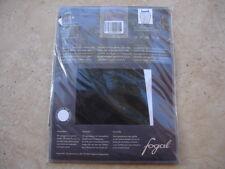 Neue FOGAL UNA Einstückstrumpfhose L black one-piece Pantyhose seamless nahtlos