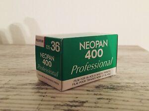 5x Fujifilm Neopan 400